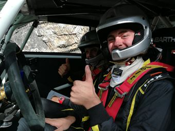 Portrait Parola Argenta (Fiat 500 Abarth   ACI Rally Italia Talent #41), CAMPIONATO ITALIANO WRC